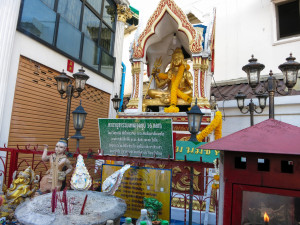 Hindu shrines are all over Bangkok