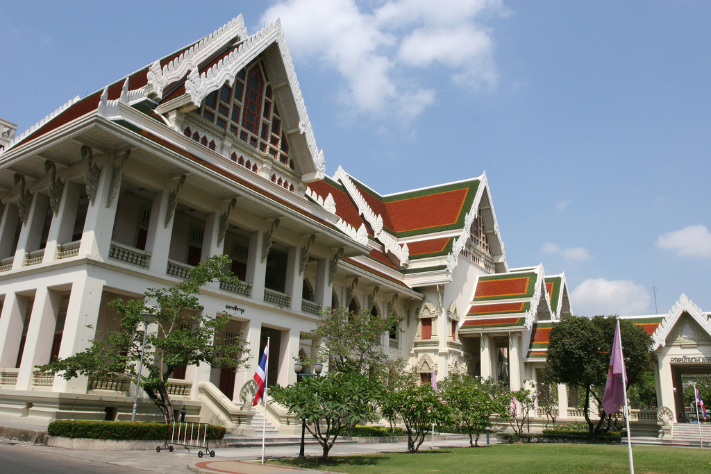 Chulalongkorn University was founded in honour of King Rama V (Photo by Chris Brown)