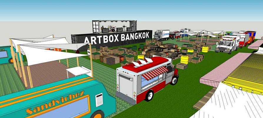 Art Box Exhibition Flea Market - image by Art Box Bangkok