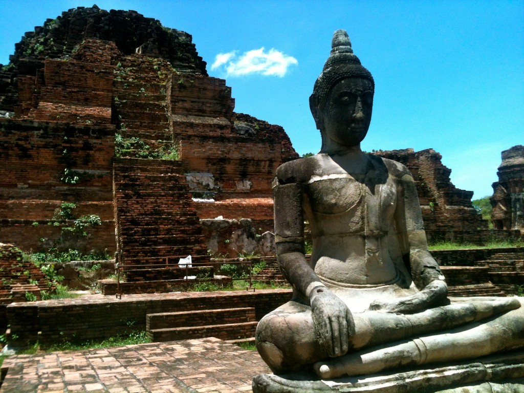 Wat Mahatat, Ayutthaya, Thailand - photo by Chris Wotton