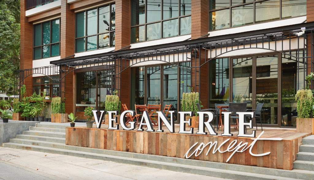 Veganerie vegan restaurant in Bangkok, Thailand - photo by Veganerie