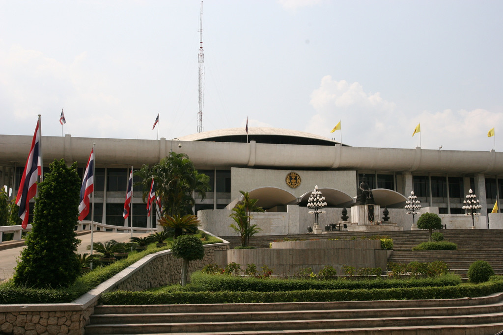 Thai Parliament - photo by Chris Brown