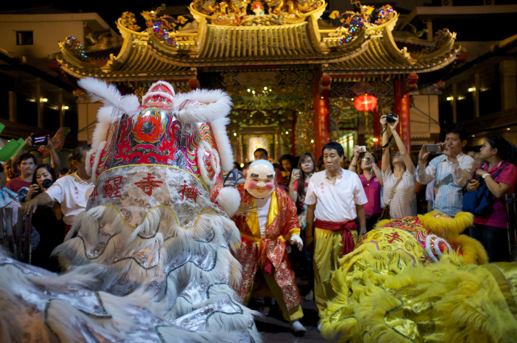 Chinese New Year in Yaowarat, Bangkok, Thailand - photo by Aleksandr Zykof