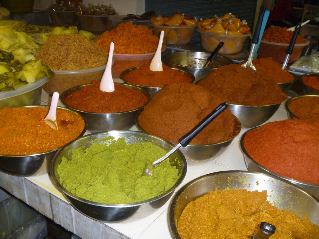 Curry pastes in Phuket, Thailand - photo by Ryan Snyder