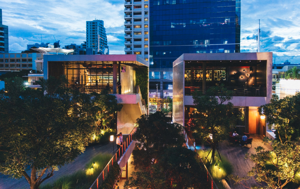 72 Courtyard community mall in Bangkok, Thailand - photo by 72 Courtyard