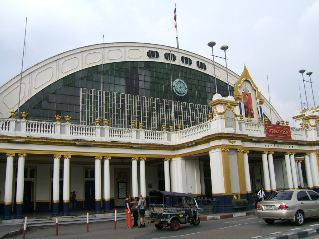 Hualamphong Railway Station in Bangkok, Thailand - photo by shankar s.