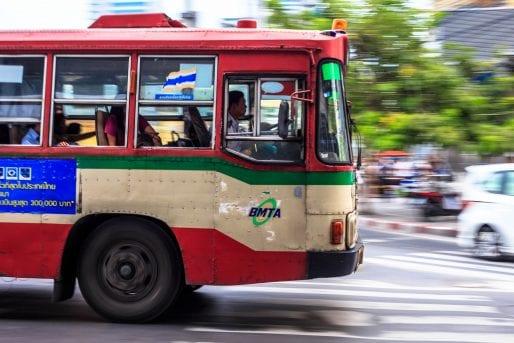 A Bangkok bus