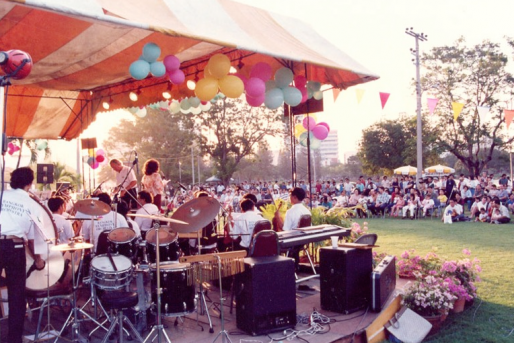 Concert in the Lumpini Park