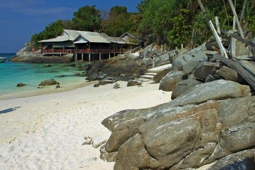 Koh Raya island off Phuket, Thailand