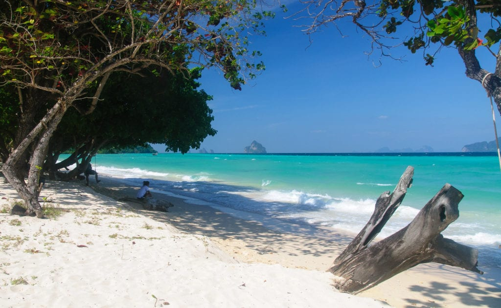 The beach on Koh Kradan in southern Thailand - photo by Alessandro Caproni