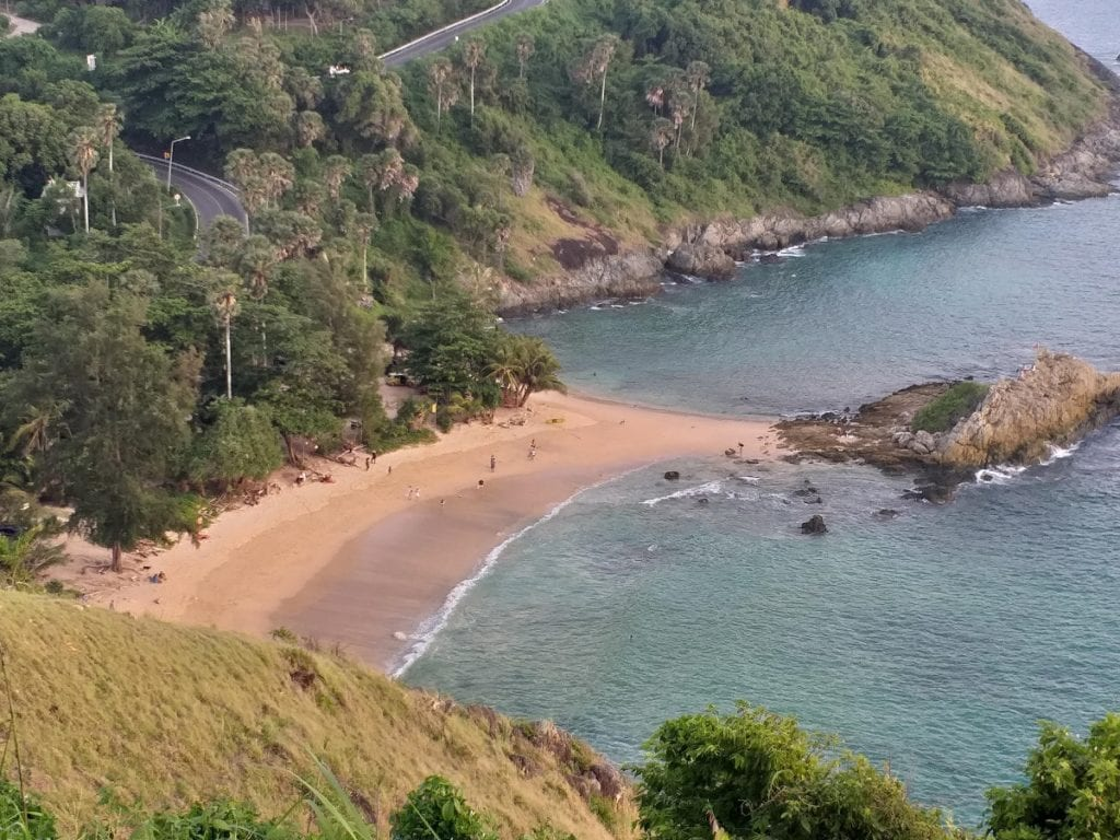 Ya Nui Beach as seen from viewpoint
