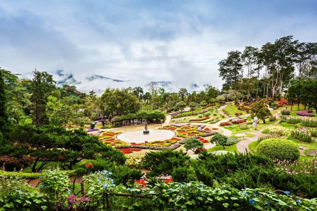 Mae Fah Luang Gardens at Doi Tung