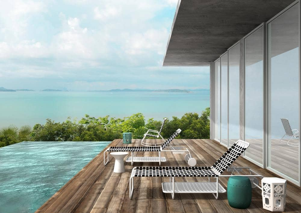 View of the see from COMO Point Yamu - luxury hotel Phuket