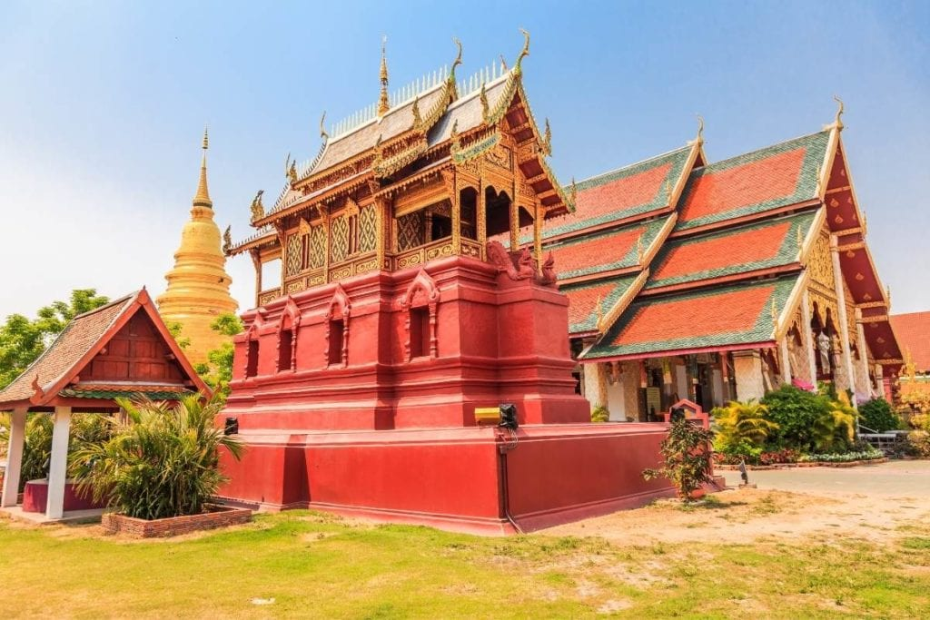 Wat Phra That Hariphunchai in Lamphun